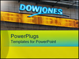 PowerPoint Template - Dow Jones