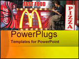 PowerPoint Template - Fast Food