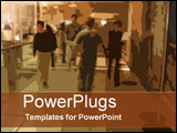 PowerPoint Template - Busy times