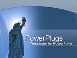 PowerPoint Template - Miss Liberty