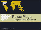 PowerPoint Template - United States of America