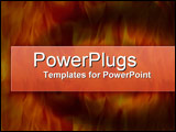 PowerPoint Template - On Fire