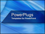 PowerPoint Template - Motion in Blue