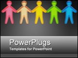 PowerPoint Template - Hand in Hand