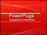 PowerPoint Template - Red Ribbons