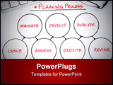 PowerPoint Template - Business charts and graphs for a successful corporation or company