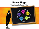 PowerPoint Template - concept of continuous improvement process or cycle