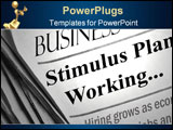 PowerPoint Template - Positive business section headlines that say