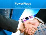 PowerPoint Template - Handshake business concept