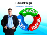 PowerPoint Template - Business Leadership concept