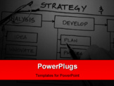 PowerPoint Template - Organizational & Planning charts & business graphs