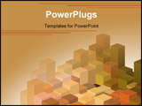 PowerPoint Template - abstract template ideal for layouts flayers brochures billboards