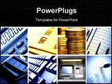 PowerPoint Template - Set of business theme photos square crop