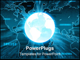 PowerPoint Template - businesses and finances in a global world.