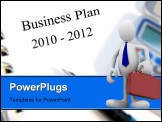PowerPoint Template - Two year business and strategic planning towards 2012