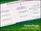 PowerPoint Template - business enterprise development scheme in the context of world crisis