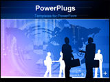 PowerPoint Template - Business World Concept