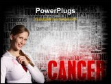 PowerPoint Template - Cancer Medical Illness Disease as Concept Art
