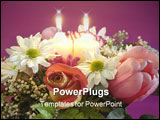 PowerPoint Template - flowers for mother