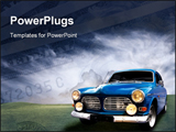 PowerPoint Template - A picture of a Beautiful classic car