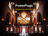 PowerPoint Template - St. Georges Anglican Cathedral in Perth Western Australia