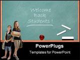 PowerPoint Template - chalkboard