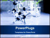 PowerPoint Template - Chemistry background