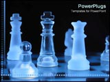 PowerPoint Template - Chess pieces in