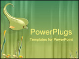 PowerPoint Template - A friendly stingray