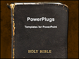PowerPoint Template - religious book cover page
