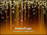 PowerPoint Template - christmas background, this illustration may be useful as designer work.