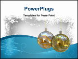 PowerPoint Template - Christmas background. Please check my portfolio for more Christmas images.