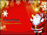 PowerPoint Template - Santa clause theme