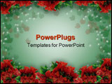 PowerPoint Template - Image and Illustration composition for Christmas holiday