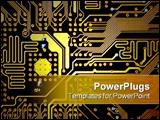 PowerPoint Template - circuitboard