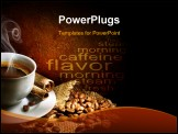 PowerPoint Template - Coffee