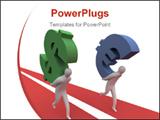 PowerPoint Template - Dollar vs euro