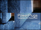 PowerPoint Template - Modern concrete with structural overtones
