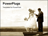 PowerPoint Template - Funny wedding