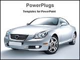 PowerPoint Template - image of a luxury car
