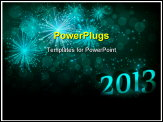 PowerPoint Template - New year celebration