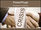 PowerPoint Template - business in crisis