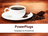 PowerPoint Template - Cup of coffee