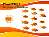 PowerPoint Template - Entrepreneur outsider or just pure shark bait.
