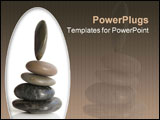 PowerPoint Template - rocks balancing