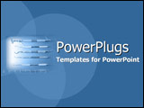 PowerPoint Template - Spotlight on dental equipment