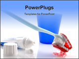 PowerPoint Template - Dental assortment for health