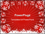 PowerPoint Template - winter themed background