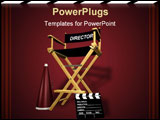 PowerPoint Template - Rendered director