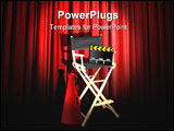PowerPoint Template - Image of director